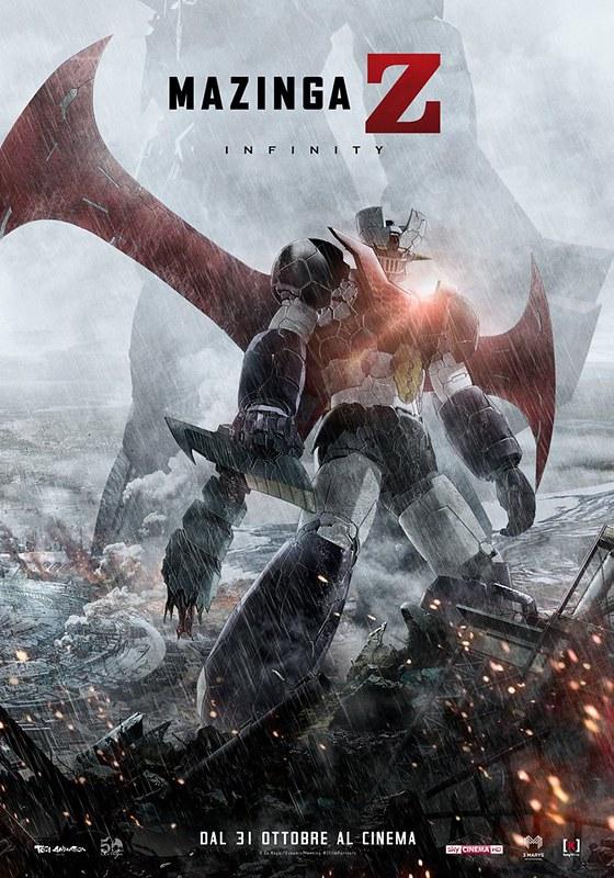 Mazinga Z Infinity - New Italian poster