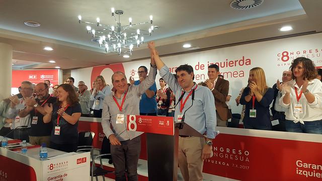 8 Congreso PSE-EE Gipuzkoa
