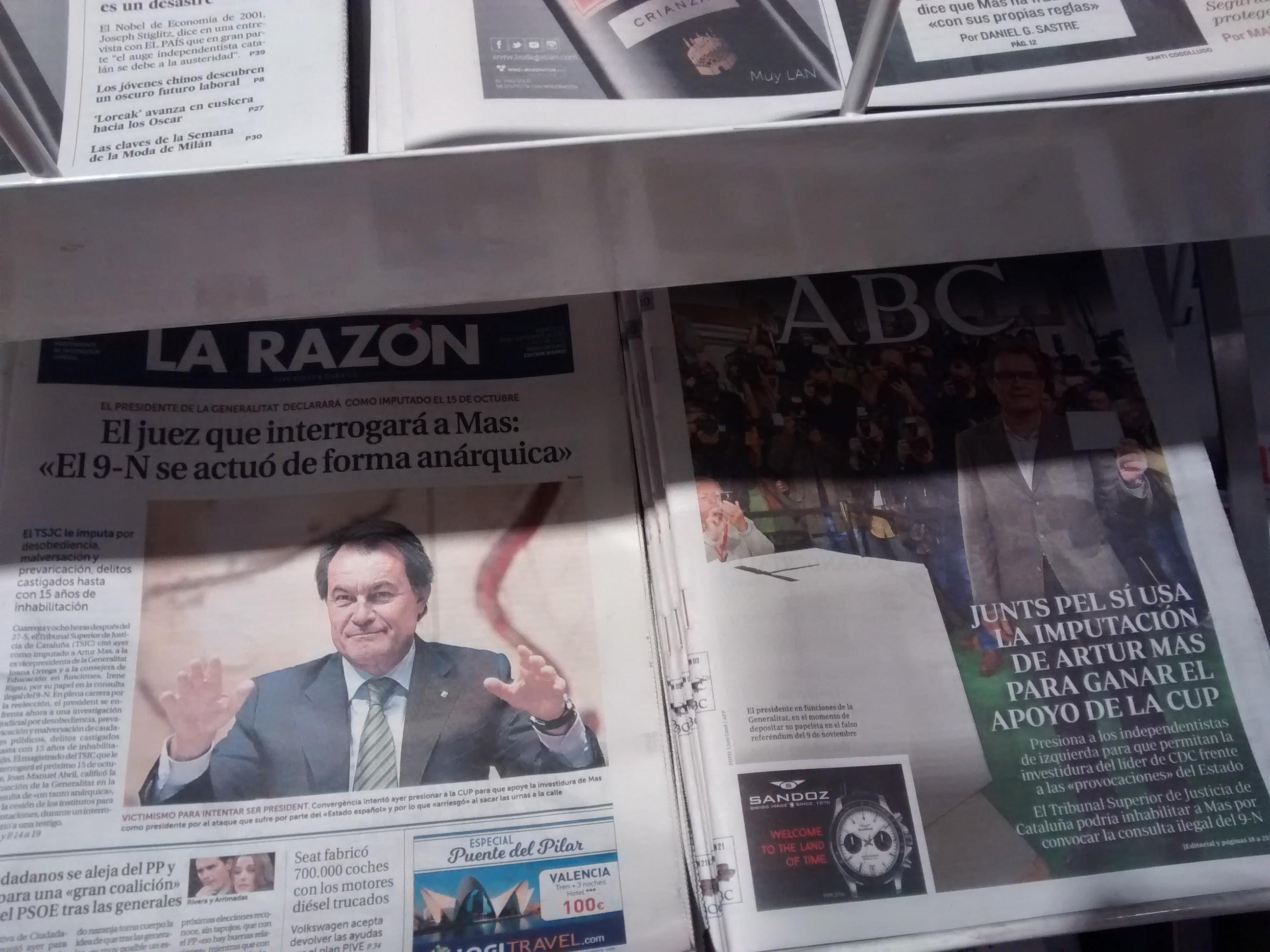 Prensa española 2015