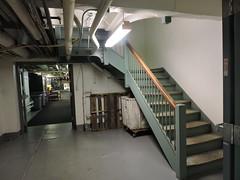 Elliot Hospital Basement Stairwell