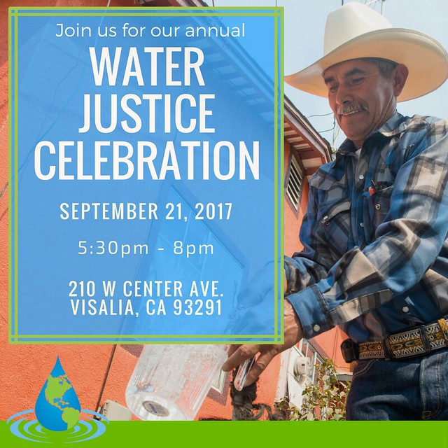 2017 Water Justice Celebration 9/21/17