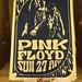 Pink Floyd Poster, Birmingham Museum & Art Gallery 2017