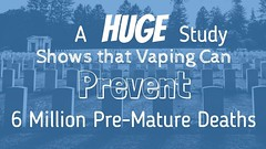 Study Shows Vaping Can Prevent 6 Million Premature Deaths in 10 Years