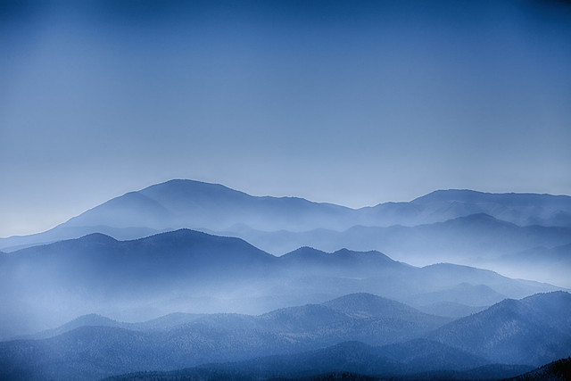 High Sierra overlook