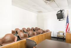 Jury Box, Henderson County Courthouse, Athens, Texas 1710131214