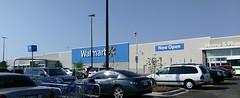 Walmart, Raleigh LaGrange Rd. (as seen during grand opening weekend, late June 2016)