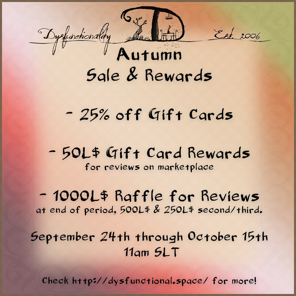 Autumn Review Promo & Gift Card Sale! - TeleportHub.com Live!