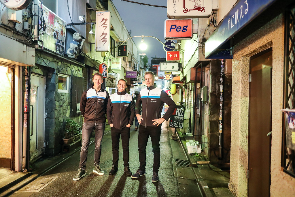 Tokyo visit with Volvo Polestar drivers GIROLAMI Nestor BJORK Thed (swe) CATSBURG Nicky (ned) Volvo S60 Polestar team Polestar Cyan Racing during the 2017 FIA WTCC World Touring Car Championship race at Motegi from october 27 to 29, Japan - Photo Alexandre Guillaumot / DPPI during the 2017 FIA WTCC World Touring Car Championship race at Motegi from october 27 to 29, Japan - Photo Alexandre Guillaumot / DPPI