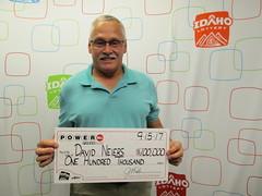 David Neiers - $100,000 - Powerball - Chubbuck - Stinker Stores