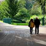 Couple at Avenham Park Preston