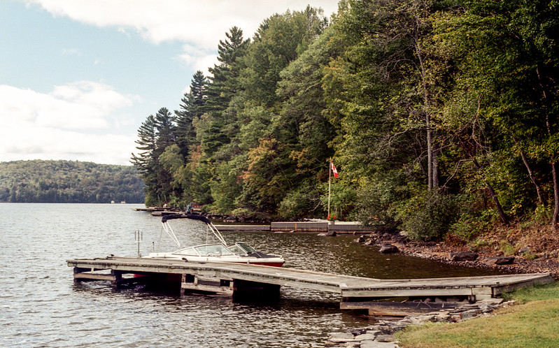 Lake of Bays Cottage Dock