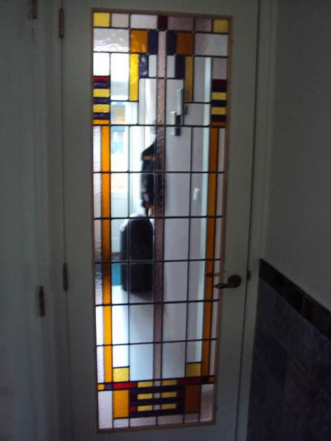 Ensuite Deuren Glas In Lood.Glas In Lood Deuren En Ensuite Deuren Atelier Domstad