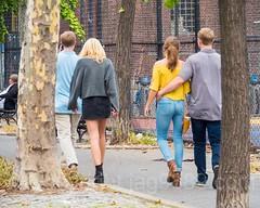 Couples on Chrystie Street, Lower East Side, Manhattan, New York City