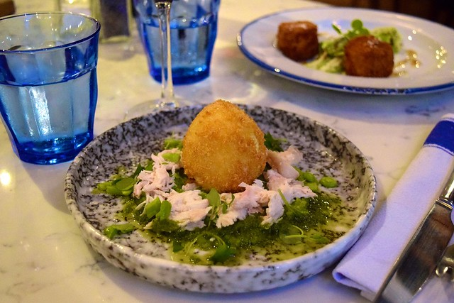 Starters at The Pickled Hen, Marylebone| www.rachelphipps.com @rachelphipps