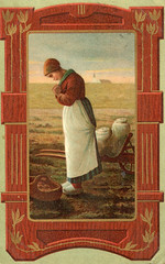 Art Postcard - Millet