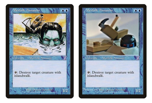 Lego Merfolk Assassin Mtg
