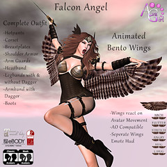 Falcon Angel - Exclusive for Square1 Event