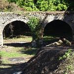 condotta acqua  su ponte medievale, e mulino D'ambrosio