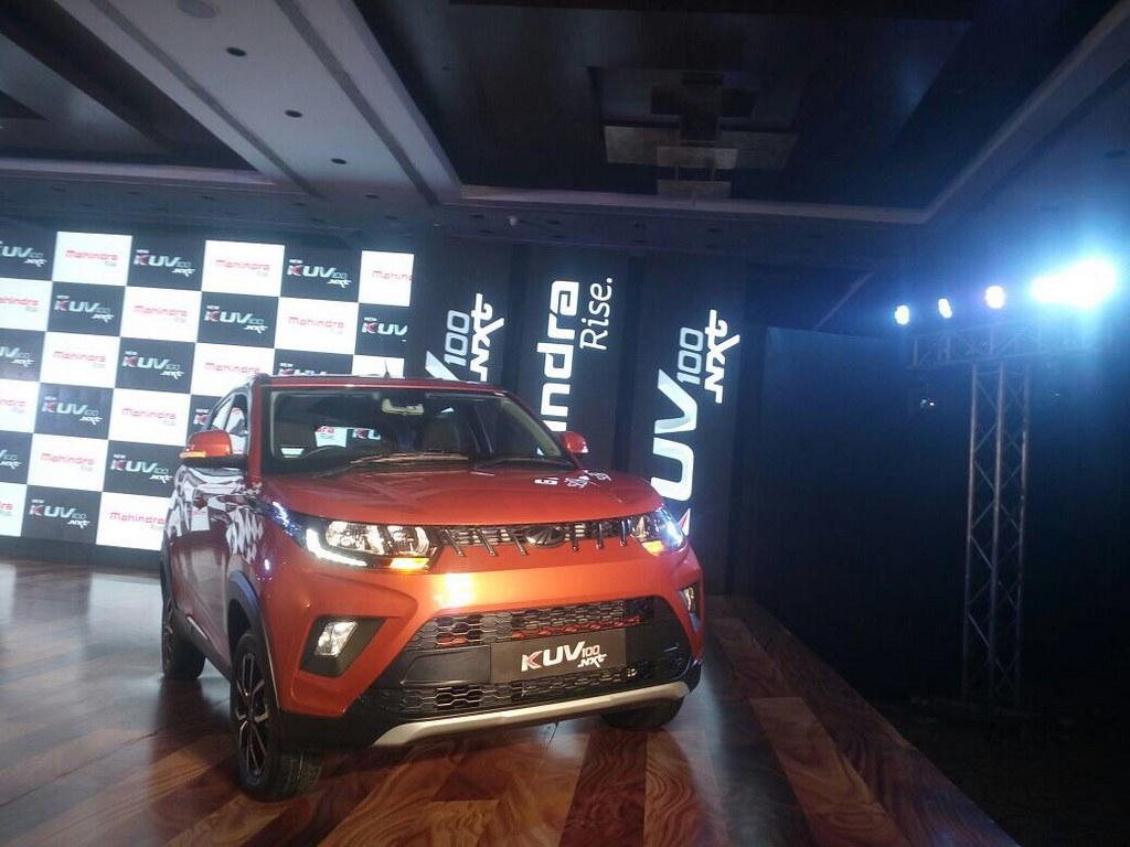 Mahindra-KUV100-NXT-Launch (3)
