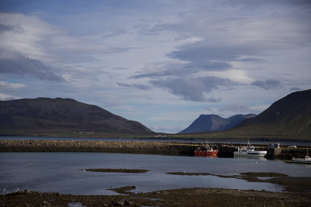 Grundrforour, Iceland boats and mountains