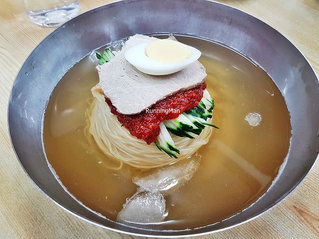 Mul-Milmyeon / Cold Spicy Noodles Soup