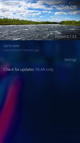 Sailfish OS v2.1.3.5