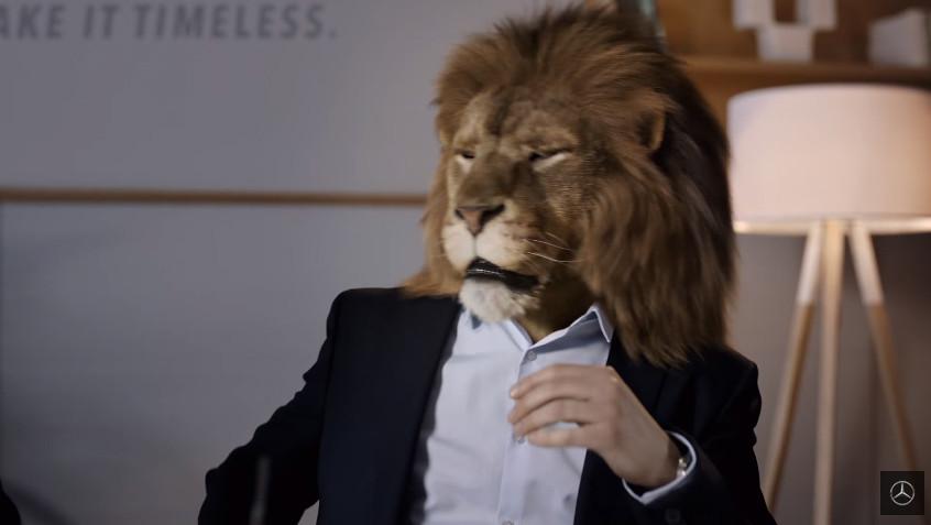 mercedes-lion