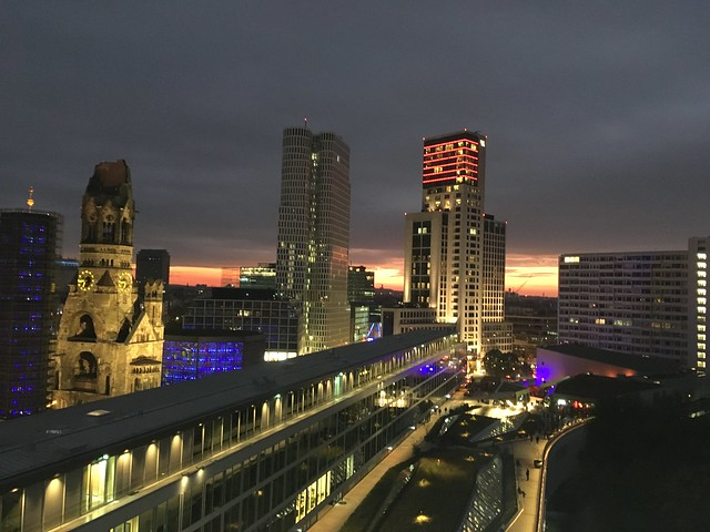 View from the Monkey Bar Berlin