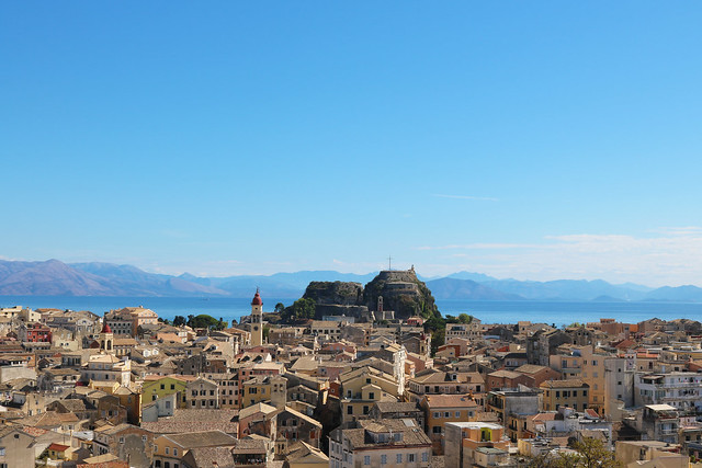 Old town and old fortress corfu