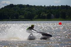 High Speeds on a Lake