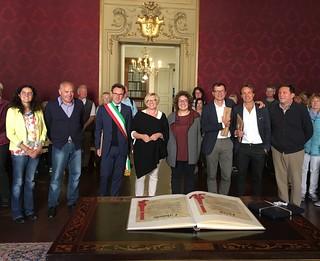 Incontro con una delegazione del Land tedesco dell'Assia, in visita a Faenza