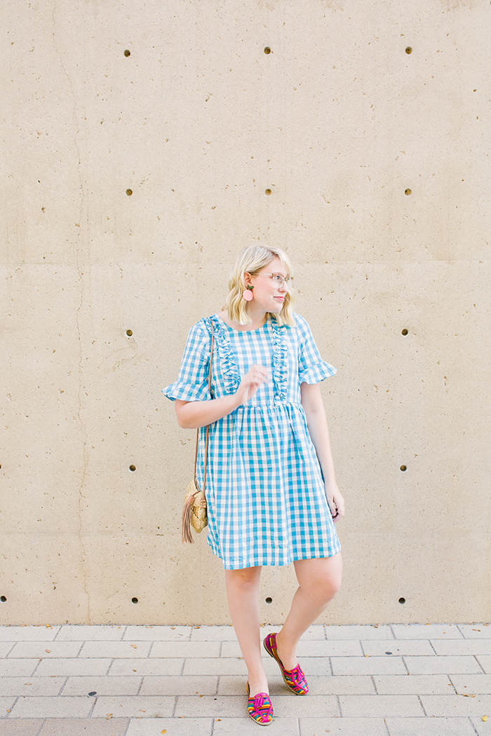 austin fashion blogger writes like a girl asos gingham dress7