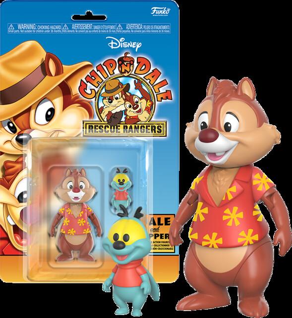 "Funko - 《午安迪士尼收藏輯:救難小福星》""蒂蒂(Chip)""&""小拉鍊(Zipper)"" 3.75吋人偶 Chip 'n' Dale: Rescue Rangers"