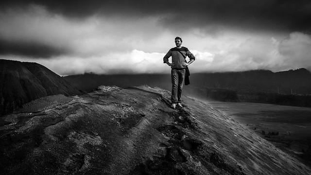 Me on Bromo volcano, Indonesia