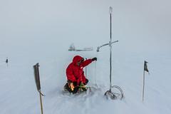 Measuring the Snow Sensor Height