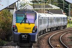 334012 departs Cardross