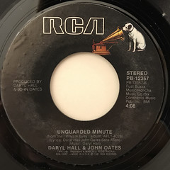 DARYL HALL & JOHN OATES:I CAN'T GO FOR THAT(NO CAN DO)(LABEL SIDE-B)
