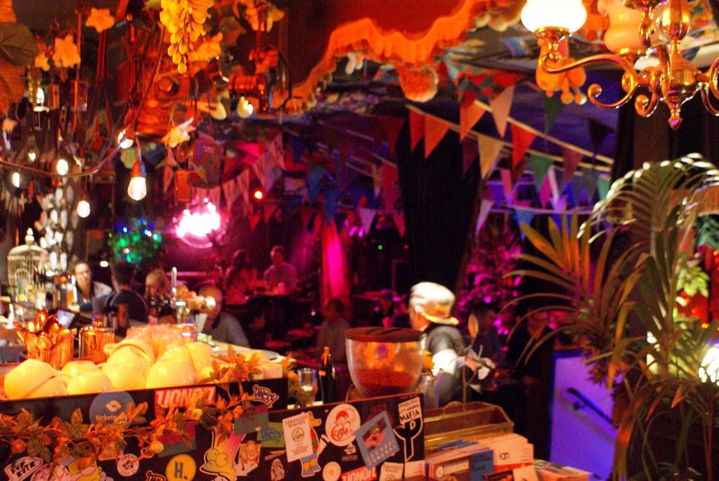 Paradise Palms, le bar le plus insolite d'Edimbourg.