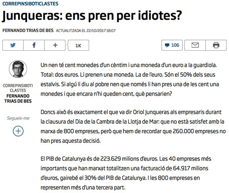 17j23 La peor catástrofe empresaria de la historia de Cataluña