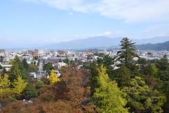 View from Tsuruga-jo castle