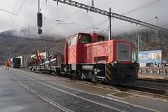 Andermatt - MGB Service Train