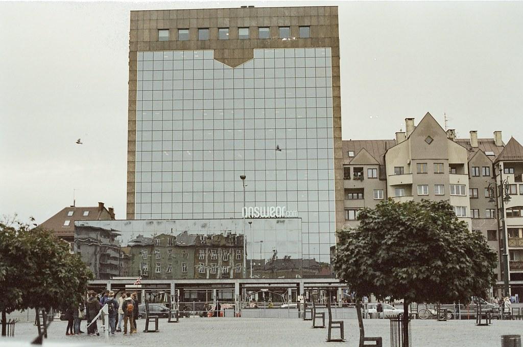 Kraków with cubes