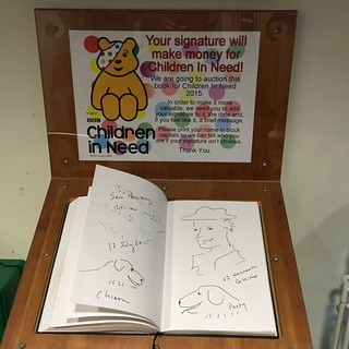 BBC Broadcasting House guest book