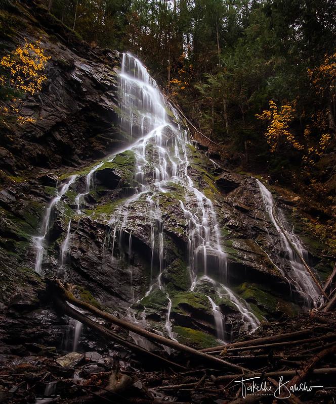 Cascade fall