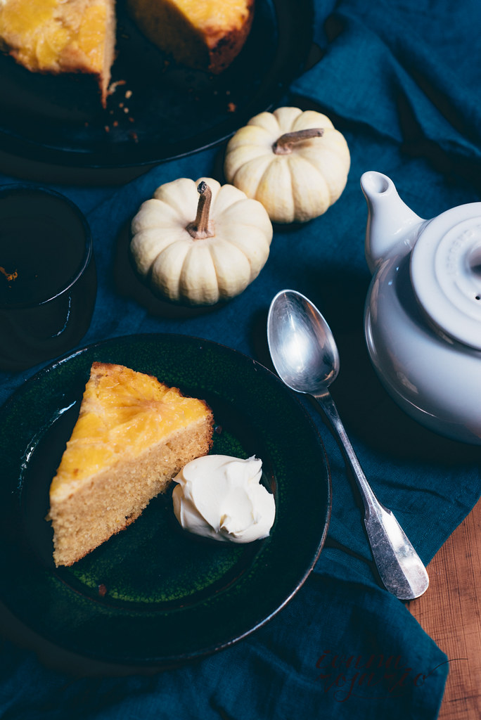 orange polenta cake