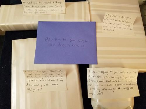Ninja Book Swap Notes