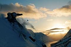 Lyngenské alpy - lyžování mezi fjordy