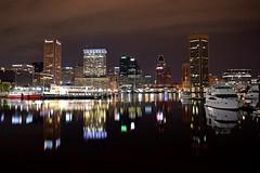 Baltimore Inner Harbor, October 11, 2017