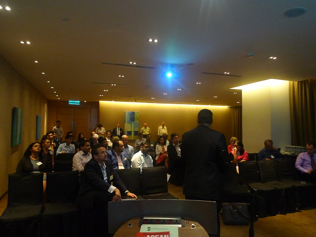 """2017 September - MABC Networking Evening and Talk on """"Leveraging Modern Technologies to Transform ASEAN Growth Opportunities - An Australia-Malaysia Collaboration Agenda"""""""