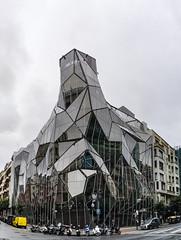 Modern buildings in Bilbao